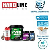 Hardline Kombinasyonlar Pro Gainer 5000 Gr + Kreatin 300 Gr + Arg