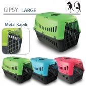 Mp Gipsy Large Metal Kapılı Kedi Ve Köpek Taşıma Kafesi 58 X 38 X 38 Cm