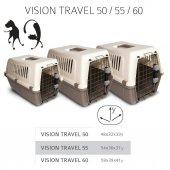 Mp Vision Travel 55 Kedi Köpek Taşıma Kafesi 54 X 36 X 37 Cm