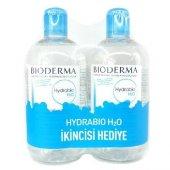 Bioderma Hydrabio H2o 500 Ml + 500 Ml Skt 10 2018 (Puansız)