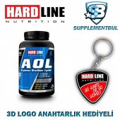 Hardline Aol 120 Kapsül + 3d Logo Anahtarlık Hediyeli