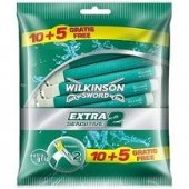 Wilkinson Extra2 Sensitive Kullan At Tıraş Bıçağı 15li (9708)