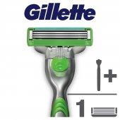 Gillette Mach3 Sensitive Tıraş Makinesi(7865)