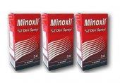 Minoxil Deri 2 60 Ml Kadın 3 Adet Saç Spreyi