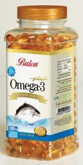 Omega 3 Balık Yağı Yumuşak Kapsül 1000 Mg X 200 Kapsül Balen