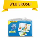 Evy Baby Bebek Bezi Dev Ekonom 3lü Set No 5 11 25kg 144 Adet