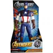 Captain America Kaptan Amerika Figürü 34 Cm Sesli Işıklı
