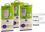 Apple İphone 7 Orjinal Sunix Şarj Aleti 2 Amper