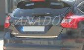 Ford Focus Hb Formlu Krom Bagaj Alt Çıtası 2011 2014