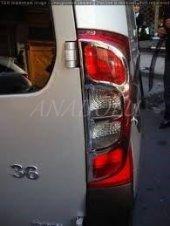 Fiat Doblo Abs Krom Stop Çerçevesi 2 Parça 2010 2014