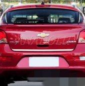 Chevrolet Aveo Sedan Formlu Krom Bagaj Alt Çıtası 2006 2011