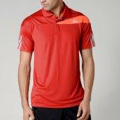 Adidas Response Fw15 Polo Yaka Erkek Kırmızı Tişört Aa7113