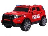 Babyhope Ford Polis Akülü Araba 12v Kırmızı