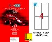 Tanex Tw 2204 Polyester Etiket