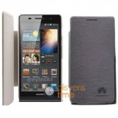 Huawei Ascent P6 Kılf Flip Cover