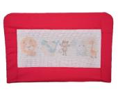 Lila Baby Bebek Yatak Bariyeri Kırmızı Kod 02
