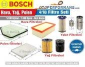 Vw Jetta 1.6 Tdı Bosch Filtre Bakım Seti 4lü (2011 2015)