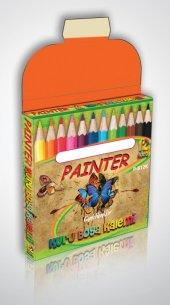 Paınter 12 Renk Kısa Kuru Boya Seti 7819