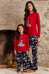 Pierre Cardin 7208 10 14 Garson Yaş Kız Çocuk Pijama Takımı