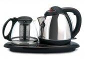 Arnica Chaydanlık Cam Çelik 2200w Çay Makinesi Çaycı Outlet Ürün