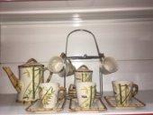 Sima 16 Prç. Çay Ve Süt Takımı Seti