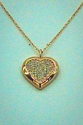 Kalp Gümüş Kolye Gk170027074