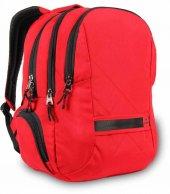 Alone Çanta Kırmızı Notebook Bölmeli Sırt Çantası (15,6)