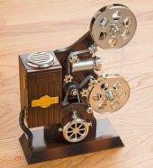 Sinemaskop Şeklinde Nostaljik Müzik Kutusu