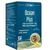 Ocean Plus Omega 3 Saf Balık Yağı 1200mg 50 Kapsül