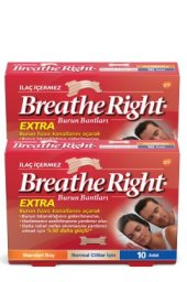 Breathe Right Extra Burun Bandı 4 Lü Paket