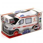 Vardem Çarpıp Dönen Sesli Işıklı 112 Ambulans Aracı 3435