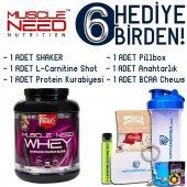 Muscle Need 50 İzole Whey Protein 2.27 Kg 6 Hediye