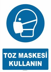 At 1345 Toz Maskesi Kullanın