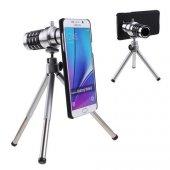 Samsung Note 5 Birebir Kılıflı 18x Zoom Teleskop Telefon Kamera Lensi