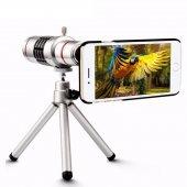 Iphone 5 5s Birebir Kılıflı 12x Zoom Teleskop Telefon Kamera Lensi