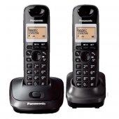 Panasonic Kx Tg2512 Duo Dect Telefon (1+1 El Cihazlı) Füme (9999)