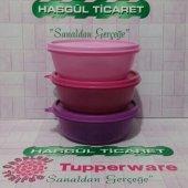 Tupperware Üç Şekerpare 3x600 Ml (Saklama Kabı) Hasgül