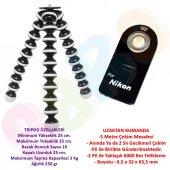 Nikon Gorillapod Tripod + Ml L3 Kumanda D5000,d510...