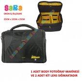 Nikon Dslr Omuz Çantası D3300 D3200 D5200 D5300 D5500 D7100 D7200