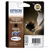 Epson C13t032140 T0321 Siyah Orijinal Kartuş
