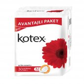 Kotex Ultra Kanatlı Normal 30&#39lu Ped