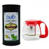 Cafe Bulb Yeşil Çay 500 Gr + Paçi Teapot Demlik Hediyeli