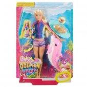 Barbie Sihirli Yunuslar Dalgıç Bebek Fbd63