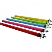 Ti Sert Renkli Tahta Tünek Vidalı (20x1 Cm) 1 Adet