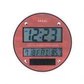Regal Ultima 0215 R Dijital Güneş Enerjili Duvar Saati