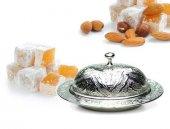 Osmanlı Motifli Lokumluk Küçük Boy Gümüş