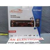 Audiomax Mx 5700bt Serisi 35 Renk Değiştirme Seçeneği Bluetoothlu Beyin Çıkmalı Oto Teyip