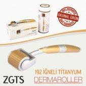 Zgts Dermaroller 192 İğneli Titanyum Gold Derma Ro...