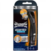 Wilkinson Sword Quattro Titanium Precision Pilli Tıraş Makinesi