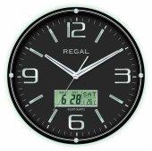 Regal 0543 Bbz Isı Ölçer Takvimli Duvar Saati